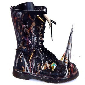 SON OF A B**CH BOOTS WORN BY LIL PEEP & ZOMBIE BOY